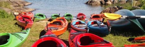 OUR KAYAKS AND CANOES